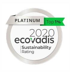 PLATINIUM from Ecovadis for REXOR